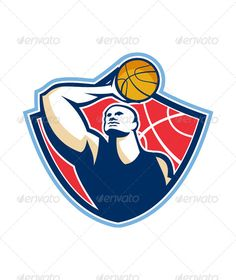 VECTOR DOWNLOAD (.ai, .psd) :: http://jquery.re/pinterest-itmid-1005692312i.html ... Basketball Player Rebounding Ball Retro ...  athlete, ball, baller, basketball, crest, illustration, lay-up, male, man, player, rebound, retro, shield, sport  ... Vectors Graphics Design Illustration Isolated Vector Templates Textures Stock Business Realistic eCommerce Wordpress Infographics Element Print Webdesign ... DOWNLOAD :: http://jquery.re/pinterest-itmid-1005692312i.html