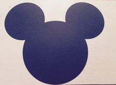 Mickey Mouse Head placemats by JCBelleCreations on Etsy