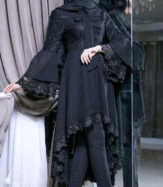 Modest Fashion Hijab, Abaya Fashion, Muslim Fashion, Women's Fashion Dresses, Stylish Dress Designs, Stylish Dresses, Simple Dresses, Mode Abaya, Mode Hijab