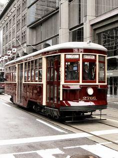 Vintage Toronto Streetcar by Oliver Mallich