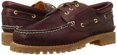 Timberland Mens Classic 3 Eye Lug Boat Shoe M US -- See this great product. (This is an affiliate link) Timberland Loafers, Timberlands Shoes, Timberland Mens, Sneakers Fashion, Fashion Shoes, Man Icon, Third Eye, Boat Shoes, Burgundy