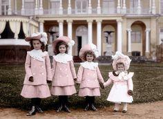 The Romanov Sisters, 1902