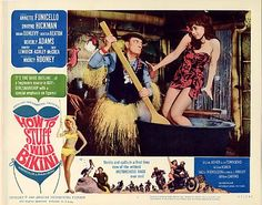 How To Stuff a Wild Bikini!  The Beach Party movies were some of my favorites growing up.  Oh, AMC...