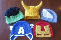 Crochet has been a very famous technique and skill that can help us make different decorative, household, gifting items etc. we must learn h to use this skill to make several beautiful 35 Crochet Cool Things - Free Pattern. Crochet Crafts, Yarn Crafts, Crochet Projects, Craft Projects, Craft Ideas, Crochet For Kids, Free Crochet, Knit Crochet, Bonnet Crochet