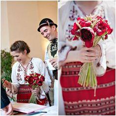 TradiţIE şi bujori. Mirela şi Remus. Nuntă de poveste românească.