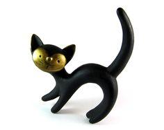 Achatit Pottery Cat