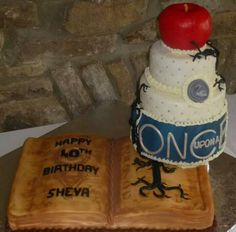 Once Upon a Time cake By: Cheryl's Home Kitchen. Find us on FaceBook!