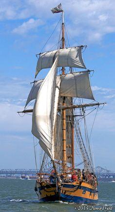 Tall ship Hawaiian Chieftain. #travel #sailing #seattle
