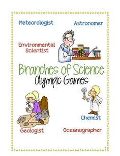 Printables Branches Of Science Worksheet science graphics and organizers on pinterest branches of olympic games