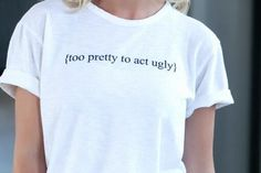 This tee was created to spread awareness and share the message that I hope will change the way women treat one another and prove that we are ALL too beautiful (INSIDE and out) to act ugly towards each