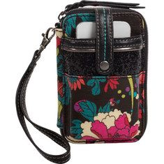 Sakroots Artist Circle Smartphone Wristlet blackIf you're feeling down and blue, pick up this colorful phone cover and you will instantly f. Smartphone, Best Wallet, Wristlet Wallet, Wallets For Women, Dillards, Flower Power, Cell Phone Accessories, Diaper Bag, Gym Bag