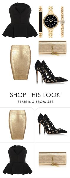 """I can bring you fame"" by gabrielle-dixon ❤ liked on Polyvore featuring Posh Girl, Gianvito Rossi, Chalayan, Yves Saint Laurent and Style & Co."