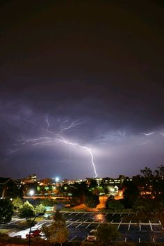 Lightening striking over Akron, Ohio on Independence Day. Google+ from Chaudinh Dinh