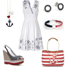 """Nautical..."" by rkimball on Polyvore"
