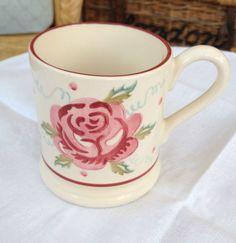 Emma Bridgewater Mary MacCarthy Rose 0.5 Pint Mug 2003