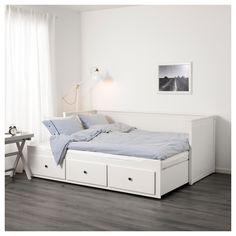 IKEA HEMNES day-bed w 3 drawers/2 mattresses