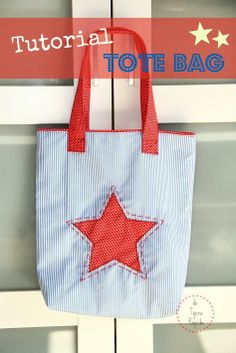 De tijera rápida, tutorial tote bag.