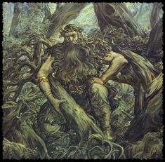 The Lesovik is a male woodland spirit in Slavic mythology who protects wild animals and forests. He is roughly analogous to the Woodwose of Western Europe and the Basajaun of the Basque Country.