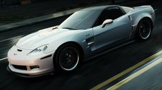 The Chevrolet Corvette ZR1. The most powerful production of Chevrolet.