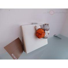 Spoločenská značková kabelka Menbur svetlá textília - 815330013