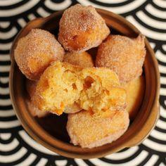 Vegan Sweet Potato Doughnuts with Spiced Sugar - Vegetarian & Vegan Recipes http://veggiefocus.com