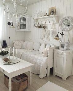 tutto bianco shabby chic ingresso | Home Interiors....Bohemian ...