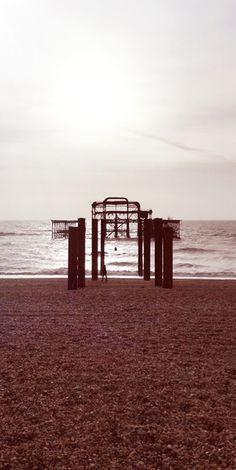 Old Brighton Pier [OC][1750*3480] : AbandonedPorn