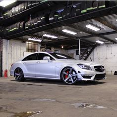 Mercedes-Benz CLS63 On A Custom Set of vossen Wheels | Follow: @nolimitbmore | For More Great Builds