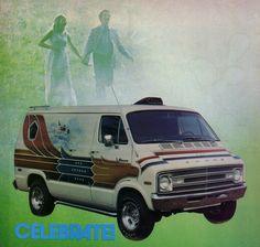 gladiator 1970s custom van guy girl
