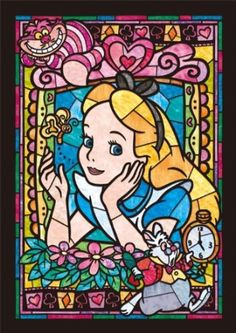 Alice In Wonderland Turned Into A Cross Stitch Chart (And Stitched By Me) By Eromas 78