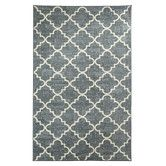 Found it at AllModern - Strata Fancy Trellis Gray Printed Area Rug