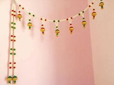 Hobbies And Crafts, Diy And Crafts, Crafts For Kids, Arts And Crafts, Diwali Decorations, Handmade Decorations, Diwali Craft, Rangoli Designs Diwali, Door Hangings