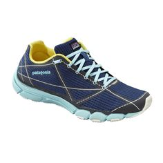 Patagonia Women's EVERlong is an ultralightweight running shoe with added cushioning for long-distance comfort.