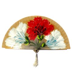 Spanish fans made in Spain. We stock over 300 quality handmade and unique spanish products. Our handmade Spanish fans and wood hand fans are perfect for any Mediterranean style decor, personal use, or flamenco dancing. Antique Fans, Vintage Fans, Spanish Art, Spanish Style, Hand Held Fan, Hand Fans, Painted Fan, Hand Painted, Mediterranean Style Decor