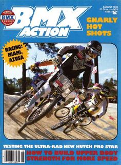 Bmx Action was THE magazine before the internet