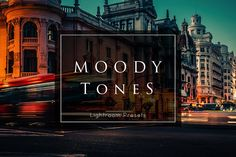 150+ Moody Lightroom Presets - Actions