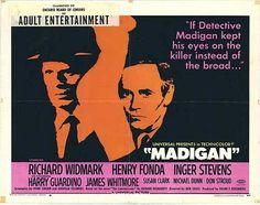 Bill Crider's Pop Culture Magazine: Overlooked Movies -- Madigan