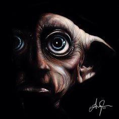 Dobby! #freeelf #dobby #harrypotter #houseelf #illustration #drawing #illustrateyourworld #nawden #artfido #artcollective #artsnapper #artnerd