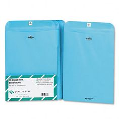 Fashion Color Clasp Envelope, 10/Pack