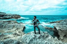 Maybe shot at Queen's Bath on Eleuthera. Bahamas Island, Lenny Kravitz, Stunning Photography, Beach Day, Music Bands, To Go, Handsome, Places, Outdoor