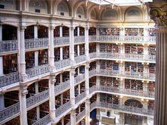 george-peabody-library- Batimore