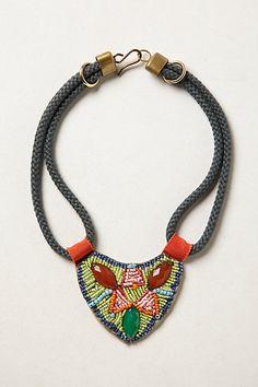 Beaded Tonala Bib #anthropologie: LOVE this!