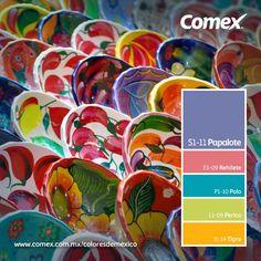 Artesanías #Comex #México #decoración #interiorismo #decoracion #deco #verde #design #interior #interiorismo