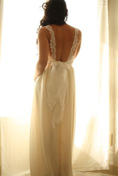 In the Month Of July Wedding Gown Bustier Custom. $950.00, via Etsy.