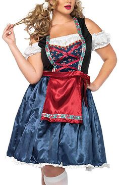 Beerfest Beauty Costume - Plus Size Halloween Costumes for Women