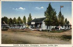 A L'Ancienne-Lorette , Lorette Mon Repos, dans le Quartier Champigny