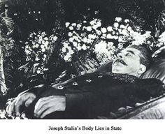 Joseph Stalin died under mysterious circumstances after eating dinner with close political colleagues. It's been suggested that he swallowed warfarin, a type of rat poison. His body was embalmed, and displayed in the Lenin Mausoleum in Red Square. After his crimes were exposed, his remains were removed in 1961, and reburied in the Kremlin wall.