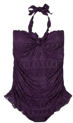 Deep Purple Swimsuit! $39.99 at Target!! This is really pretty...and my favorite color
