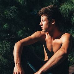 Cameron Dallas in the sun and shirtless