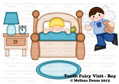 Tooth Fairy Visit Boy